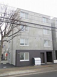 北海道札幌市東区北十九条東15丁目の賃貸マンションの外観