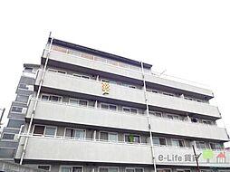 大阪府大阪市東住吉区公園南矢田1丁目の賃貸マンションの外観