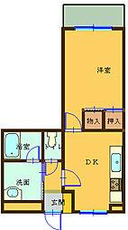 第5熊谷ビル[302号室]の間取り
