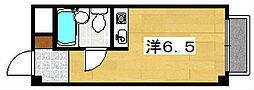 浜ハイツ[3階]の間取り