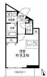 プレール・ドゥーク成増[4階]の間取り