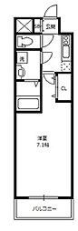 アーバンフラッツ新大阪I[2階]の間取り