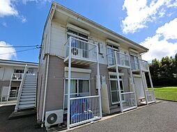 千葉県成田市土屋の賃貸アパートの外観