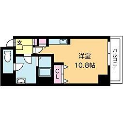 北海道札幌市北区北八条西4丁目の賃貸マンションの間取り