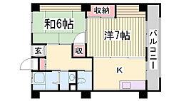 野崎住宅[5階]の間取り
