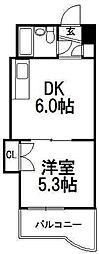 北海道札幌市中央区南四条東2丁目の賃貸マンションの間取り
