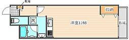 アンピールメゾン笹原[1階]の間取り