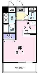 クイーンズ・コート[5階]の間取り