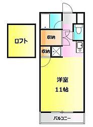 ビレッジKR-5[303号室]の間取り