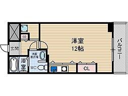 さとみマンション[4階]の間取り