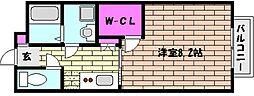 エミネンス魚崎[2階]の間取り