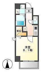 シャルマン新栄[6階]の間取り