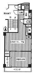 和田屋ビル[5階]の間取り