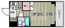 みのるマンション[501号室号室]の間取り
