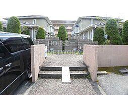 京都府京都市左京区岩倉南池田町の賃貸アパートの外観