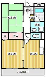 Grand chariot21(稲里町中央)[302号室号室]の間取り