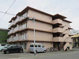 北海道札幌市北区北三十三条西11丁目の賃貸マンションの外観