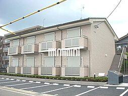 岐阜県美濃加茂市田島町3丁目の賃貸アパートの外観