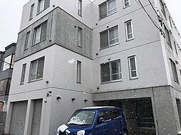 北海道札幌市豊平区美園十一条5丁目の賃貸マンションの外観
