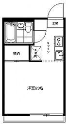 生田パークハウス[205号室号室]の間取り
