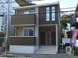 神奈川県逗子市小坪6丁目の賃貸アパートの外観