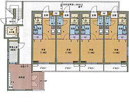 ファルステーロマンション[1階]の間取り