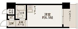 セザール東白楽[206号室]の間取り