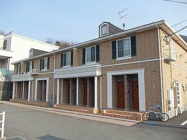 広島県呉市広白石4丁目の賃貸アパートの外観