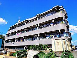 東京都清瀬市旭が丘2丁目の賃貸マンションの外観