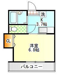 メゾンM・Y[103号室]の間取り