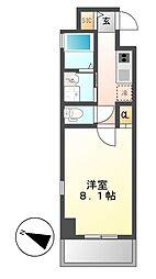 Gstyle栄東[5階]の間取り
