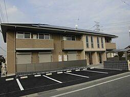 群馬県伊勢崎市境女塚の賃貸アパートの外観