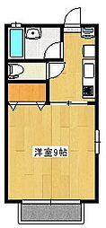 サンシティ11[2階]の間取り