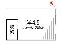 片桐荘[2階]の間取り