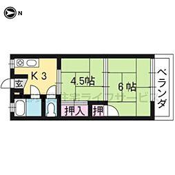 中塚マンション[1-3号室]の間取り