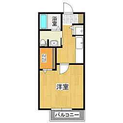 サンフレーム[1階]の間取り