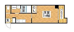 S-RESIDENCE新大阪WEST[3階]の間取り