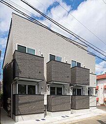 千葉県松戸市北松戸1の賃貸アパートの外観