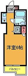 TOP・お花茶屋[207号室]の間取り