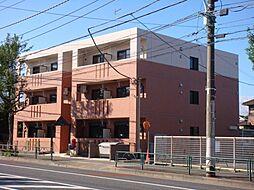 東京都青梅市新町9丁目の賃貸アパートの外観