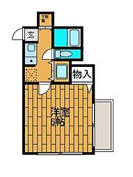 カサ・デ・アンジュラ町田[2階]の間取り