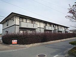 福岡県久留米市江戸屋敷2丁目の賃貸アパートの外観