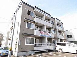 北海道札幌市東区北二十四条東10丁目の賃貸アパートの外観