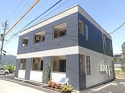 長野県上田市神畑乙の賃貸アパートの外観