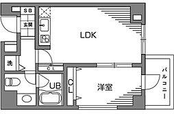 新宿7丁目マンション[303号室号室]の間取り