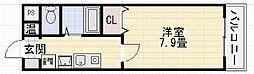 アンシャンテ深井[403号室]の間取り