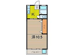 松ヶ丘マンション[2階]の間取り