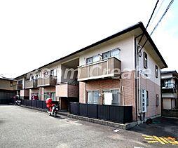 徳島県徳島市北矢三町4丁目の賃貸アパートの外観
