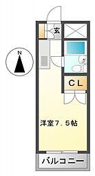 アパートメント・シバタ2[3階]の間取り