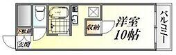 川本マンション[101号室号室]の間取り